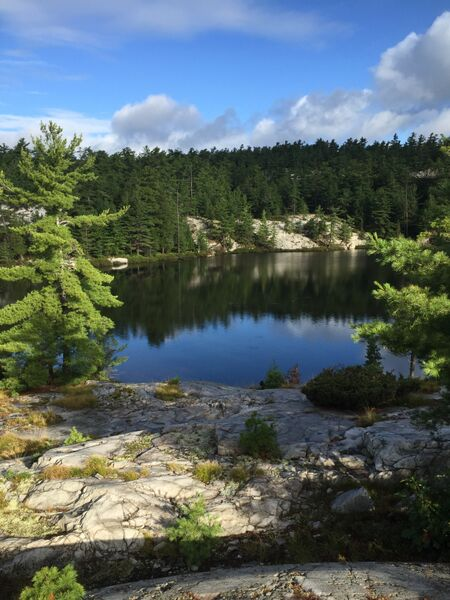 Heaven Lake, Killarney Provincial Park