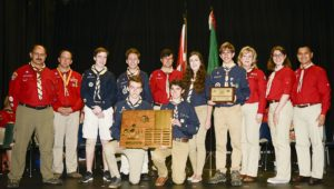 4th Trafalgar, the first place winners of the Amory Adventure Award.